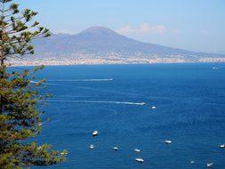 Ship, Coast, Italy, Island, Holiday