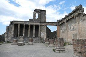Pompeii, Italy, Naples, Antiquity