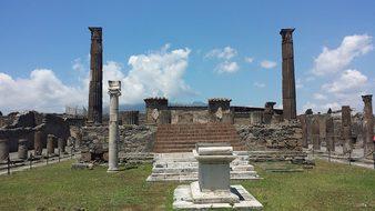 Pompeii Naples Archaeology Culture Campani