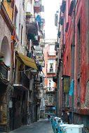 Street, Naples, Italy, Wall