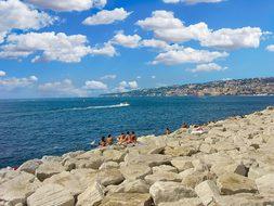Naples, Bay, Sea, Mediterranean, Travel