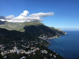 Sorrento, Cliff, Italy, Mediterranean