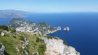 Island, Capri, Italy, Travel