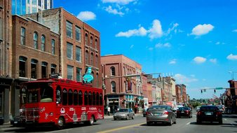 Nashville Tennessee Usa City America Skyli
