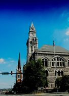 Church Nashville Tn Usa City Downtown City