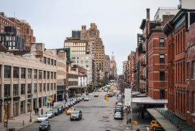 New York Meatpacking District Ny Usa Manha