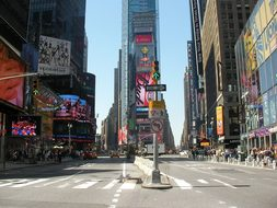 Times Square Usa New York Ny Nyc New York