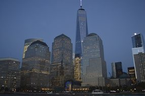 New York, One World Trade Center, 1 Wtc