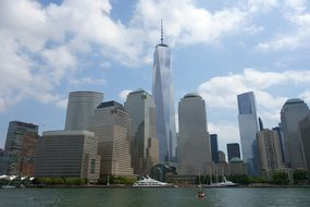New York, Skyline, World Trade Center