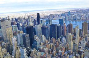 New York City, New York, Manhattan, City