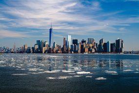 New York Skyline New York City City Manhat