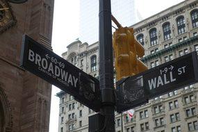 New York, Road, Broadway, Wall Street