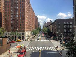 New York Highline Skyline City Manhattan N
