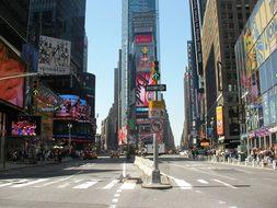 Times Square Usa New York Ny Nyc New York