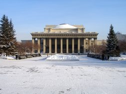 Russia, Novosibirsk, The Opera House