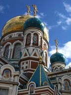 Omsk, Cathedral, Building, Church