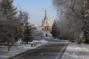 Russia, Siberia, Omsk, Winter