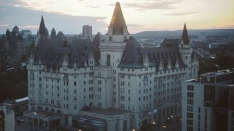 Chateau Laurier Hotel Ottawa Ontario Canad