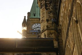 Ottawa Canada Parliament Peace Tower Archi
