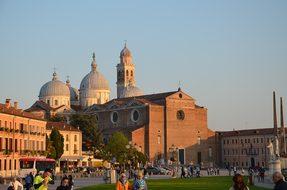 Basilica Padova Padua Italy Church Archite