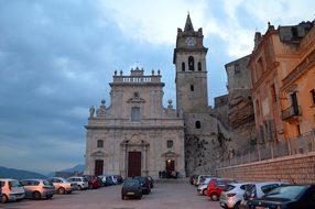 Caccamo, Sicily, Church, Duomo