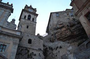 Caccamo, Sicily, Cityscape, Italy