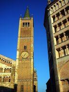 Italy, Parma, Church, Babtisterium, Dom
