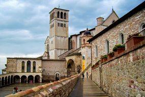 Assisi St Francis Basilica Of St Francis P