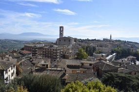 Perugia, Umbria, Medieval Village, Italy