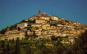 Umbria Trevi Valnerina Perugia Landscape C
