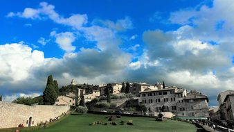 Italy Assisi Architecture Church Catholic