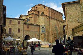 Panicale, Perugia, Borgo, Middle Ages