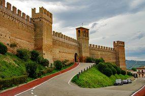 Gradara, The Walls, Fortress, Medieval