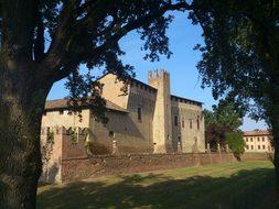 Castle, Italy, Piacenza, Campaign