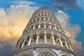 Torre, Pisa, Color, Tuscany, Tourism