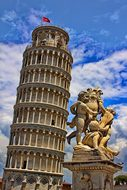 Pisa Tower Leaning Tower Italy Tuscany Bui