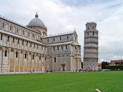Italy, Pisa, Askew, Leaning Tower