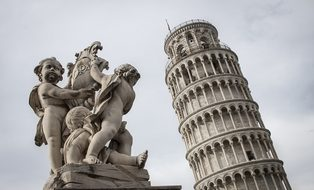 Pisa Italy Tower Europe Architecture Landm