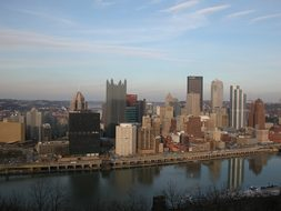Pittsburgh, City, Pennsylvania, Usa, Pa