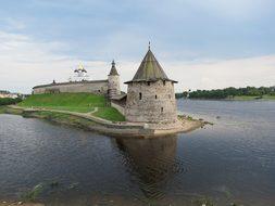 Pskov, The Kremlin, Russia, Summer