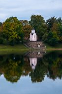 Water, River, Tree, No One, Chapel, Dome