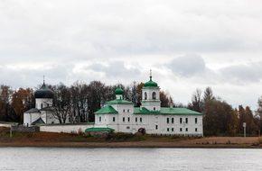 Monastery, Mirozhsky, Architecture