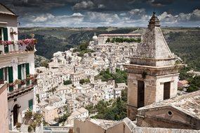 Italy Sicily Ragusa Ragusa Ibla Landscape