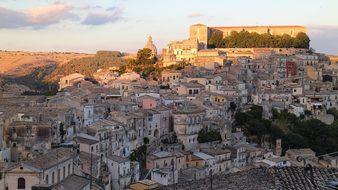 Ragusa, Sicily, Italy, Palazzo