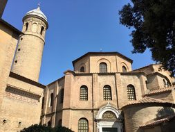 Basilica San Vital Ravenna Church Italy Ra