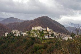 Posticciola, Rock Sinibalda, Italy