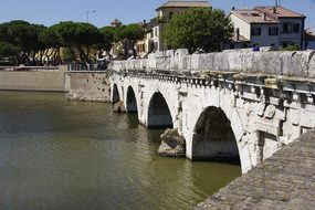 The Bridge Of Tiberius, Ponte Di Tiberio