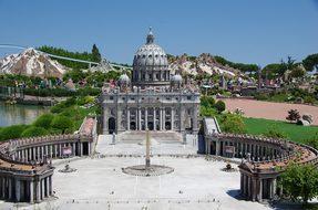 Italia In Miniatura, Italy, Rimini, Park