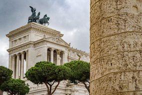 Capitol, Trajan, Rome, Roman, Monument