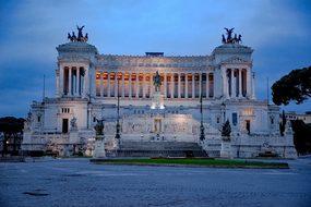 Capitol, Capitole, Monument, Column